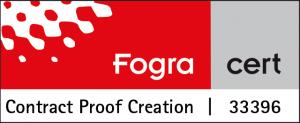 Fogra zertifiziert